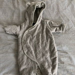 Gap baby teddy velvet bodysuit.